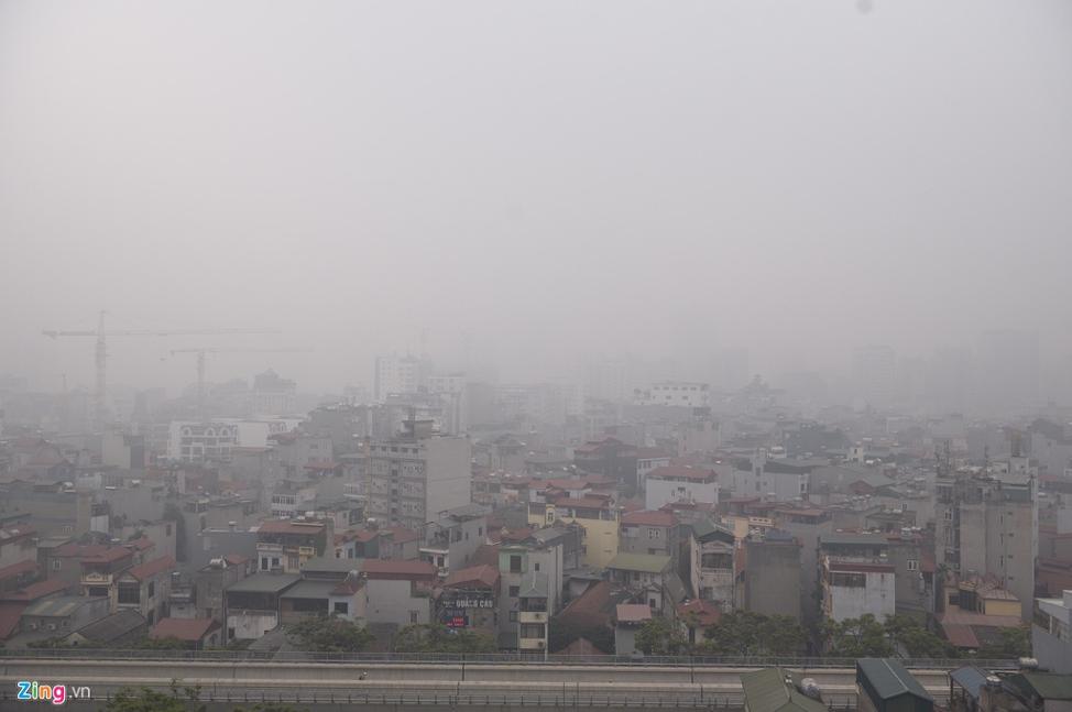 Hà Nội sẽ cho học sinh nghỉ học nếu ô nhiễm không khí chạm mức nguy hại