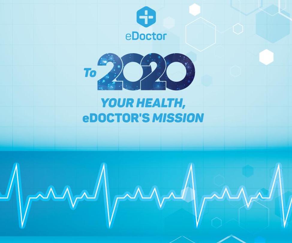 eDoctor - 2020: Sức khỏe của bạn, sứ mệnh của eDoctor!