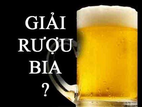 7 cách giải rượu, bia nhanh, hiệu quả tức thì